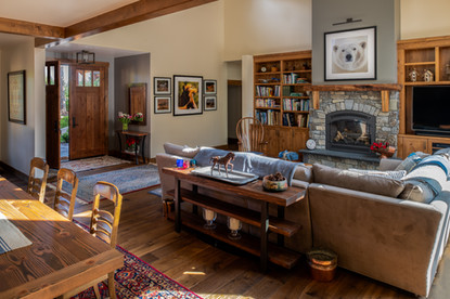 Bainbridge Island Remodel Luxury Living Room