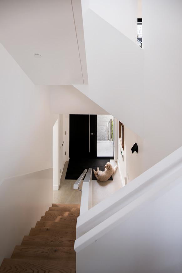 Modern Minimalism Geometric Interior Stairs