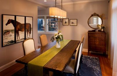 Interior Seattle Tudor Dining Room