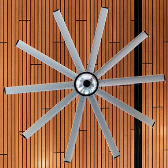 Hudtloff Middle School Ceiling Fan Fixture