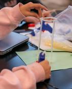 Seattle Academy High School Science Class