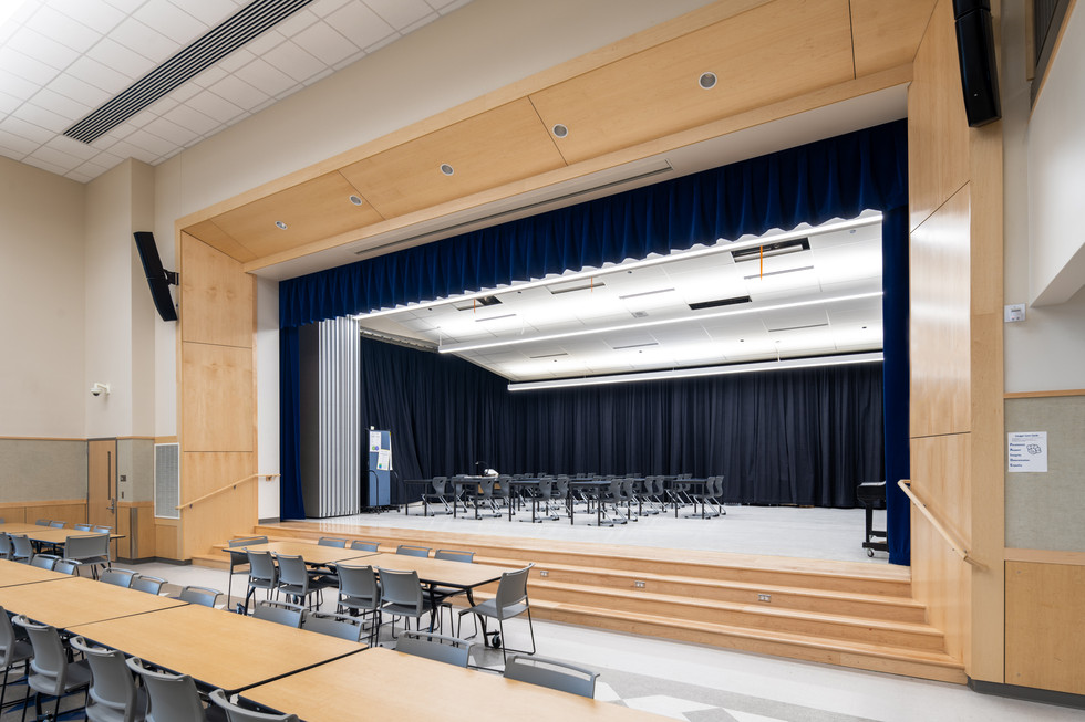 Olympic Middle School Stage Interior