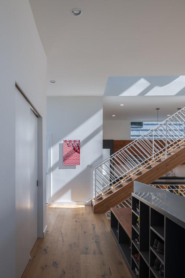 Modern residence interior Seattle