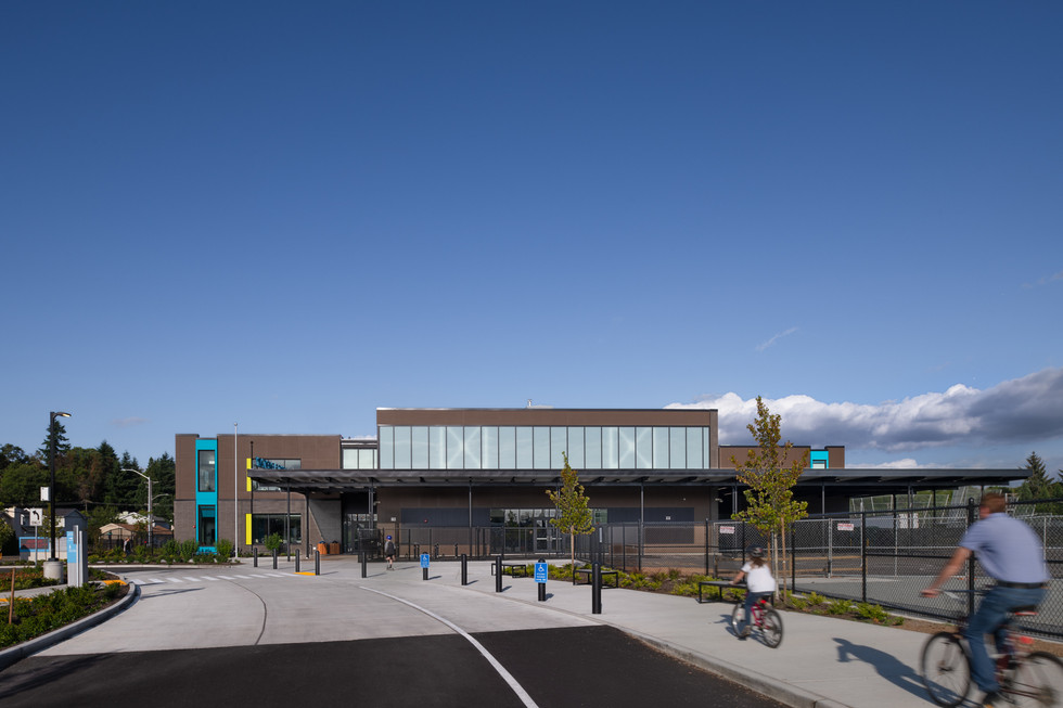 Browns Point Elementary School Exterior