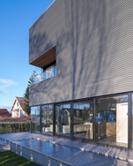 Exterior Residential Water Feature Modern