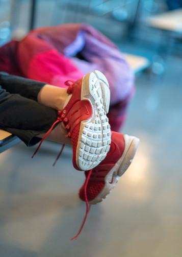 Children's Untied Shoes