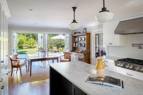 Bainbridge Island Farmhouse Interior Kitchen