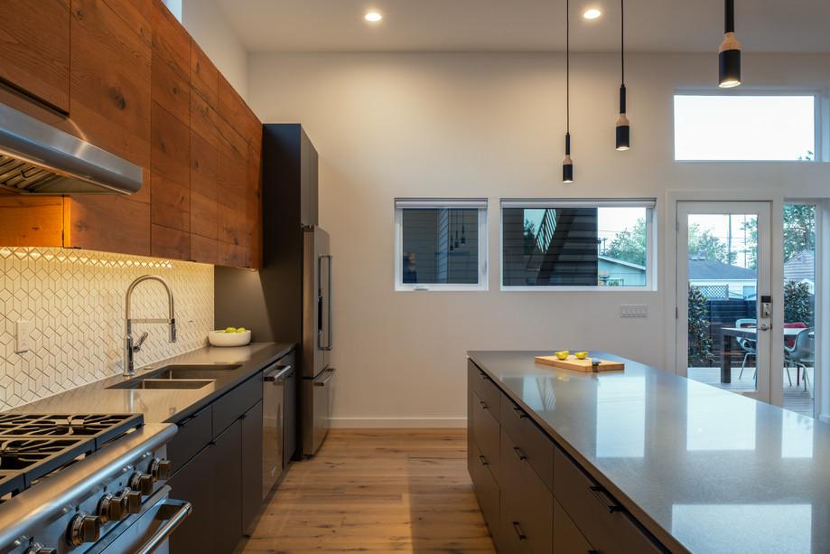 Modern residence kitchen Seattle