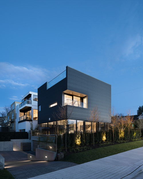 Exterior Modern Residential Home