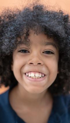 Portrait of Boy at School Smiling
