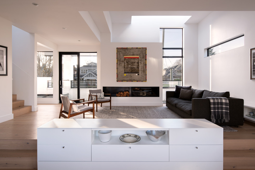 Luxury Modern Vancouver BC Home Skylights