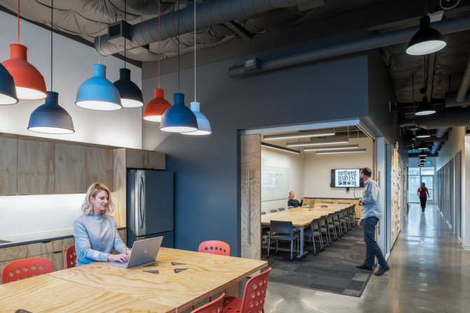 SODO Community Market Staff Lounge Interior