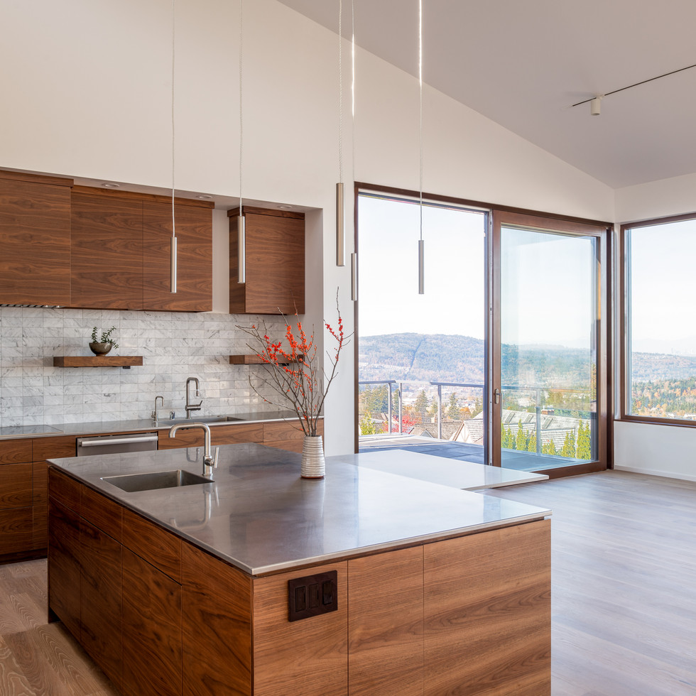 Modern Sustainable Luxury Home Issaquah