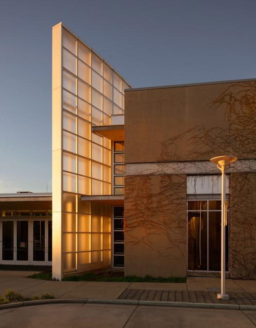 LightCatcher Museum Exterior Dusk