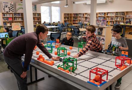 Robotics Class at University Prep