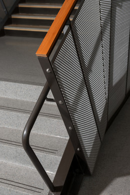 Hudtloff Middle School Railing and Stairs