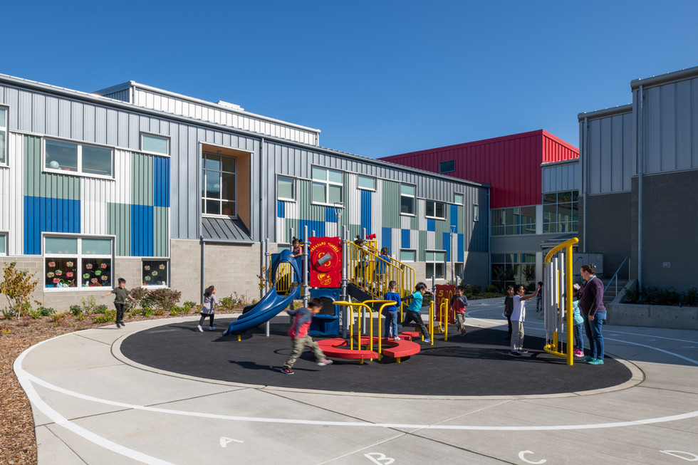 Des Moines Elementary School Playground Recess
