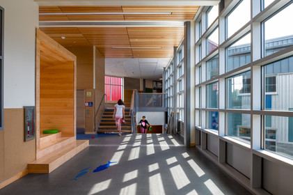 Des Moines Elementary School Hallway