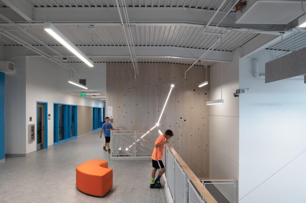 Browns Point Elementary School Interior