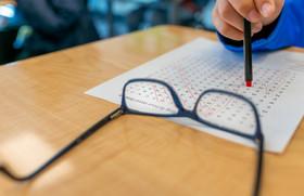 Reading Glasses Student Homework Still Life