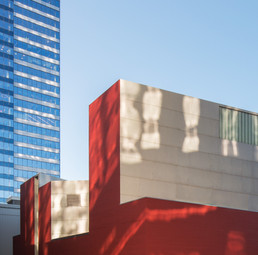 Bellevue Art Museum Abstract Exterior