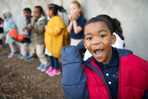 Students at Recess Charter School