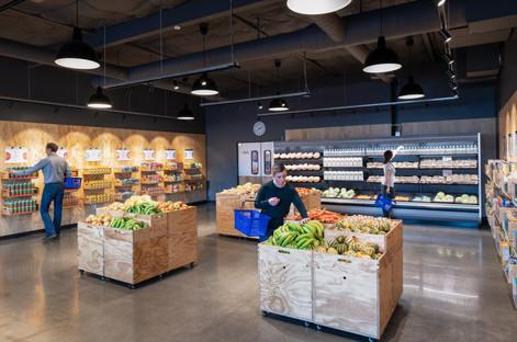SODO Community Market Interior with Customers