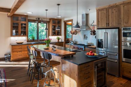 Interior Remodel Kitchen and Island