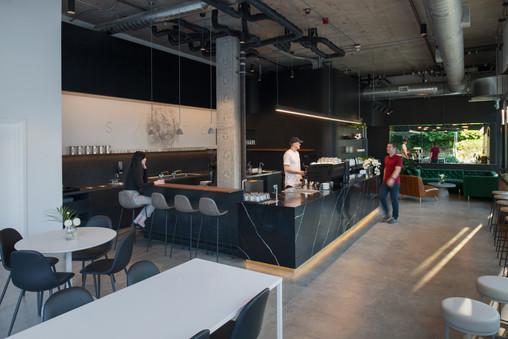 Santo Coffee Luxury Dining Interior Modern