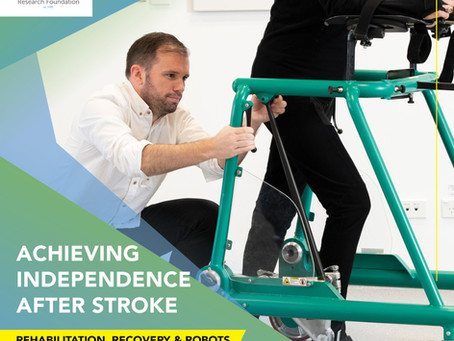 VIDEO: Achieving independence after stroke: Rehabilitation, recovery and robots