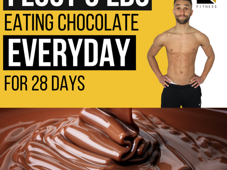 I Lost 3 lbs Eating Chocolate Everyday for 4 weeks!