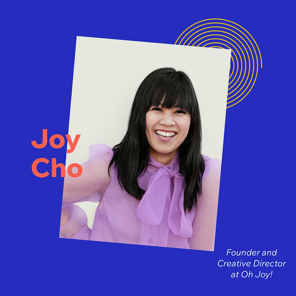 Now What? podcast S1E3 with guest Joy Cho
