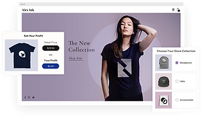 Ready-to-sell dropshipping online store for clothing