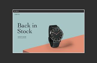 loja de relógios online