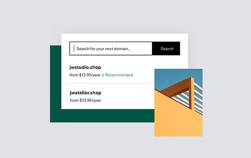 Domain name serch