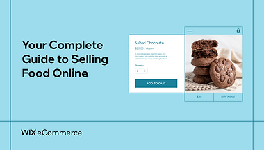 Online store selling salted chocolate cookies with Add to Cart button.
