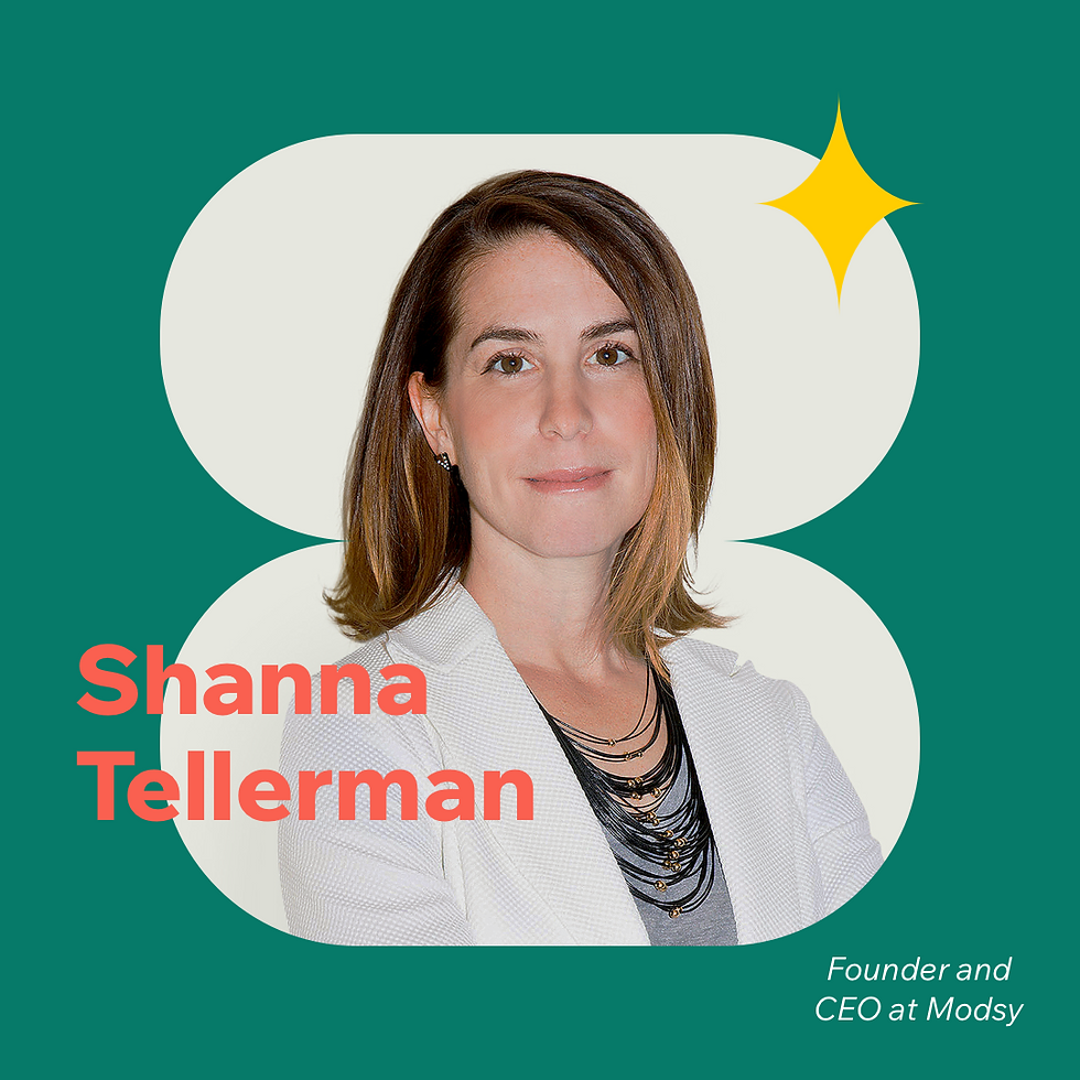 Now What? podcast S1E5 with guest Shanna Tellerman, Founder and CEO of Modsy