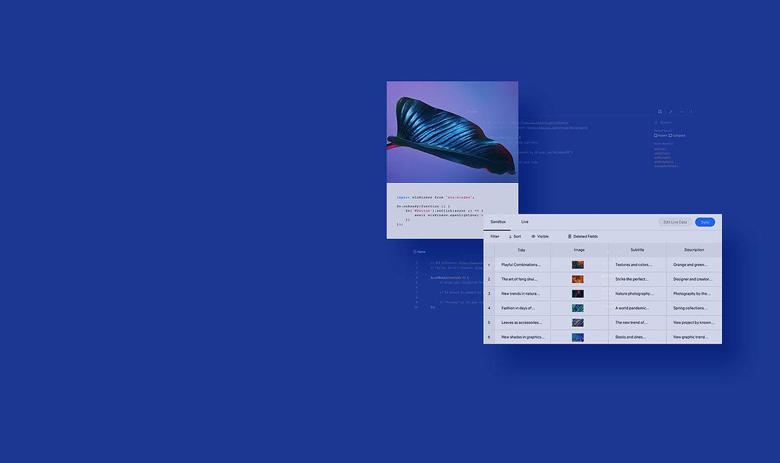 Un site de magazine en ligne qui utilise la technologie Corvid, y compris des bases de données pour créer plusieurs pages et du code personnalisé.