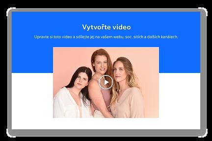 Miniatura videa se třemi dívkami s dlouhými vlasy.