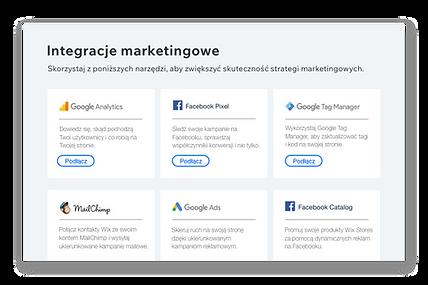 Ikony i opisy 6 popularnych narzędzi marketingowych