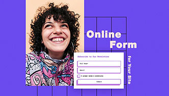 Add a form to your site to collect customer info and follow up.