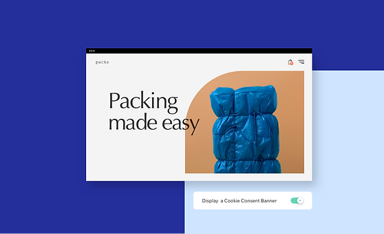 An online store for packing materials.