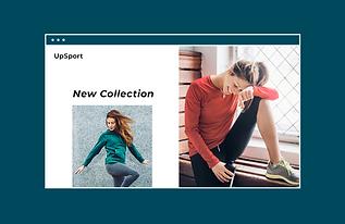 internetowy sklep z odzieżą sportową dla kobiet