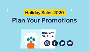 Thumbnail that reads, holiday sales 2020, plan your promotions.