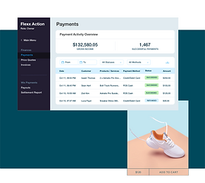 Integrated payments dashboard, product page and custom payout schedules from Wix Payments.