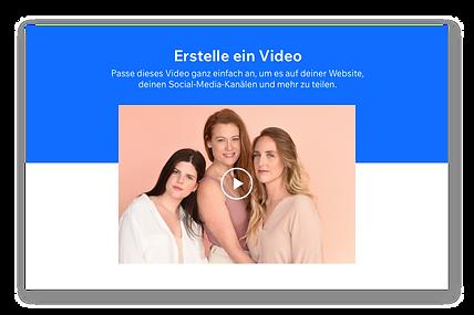 Thumbnail eines Videos, das 3 Mädchen mit langen Haaren zeigt.