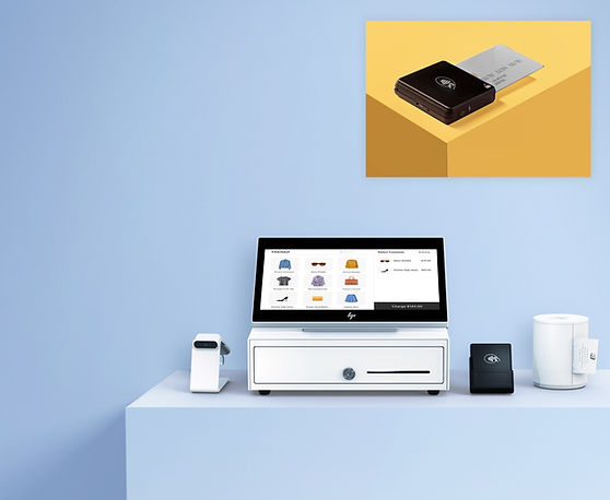 Wix's Complete Retail POS Package and the Wix Mobile POS solution.