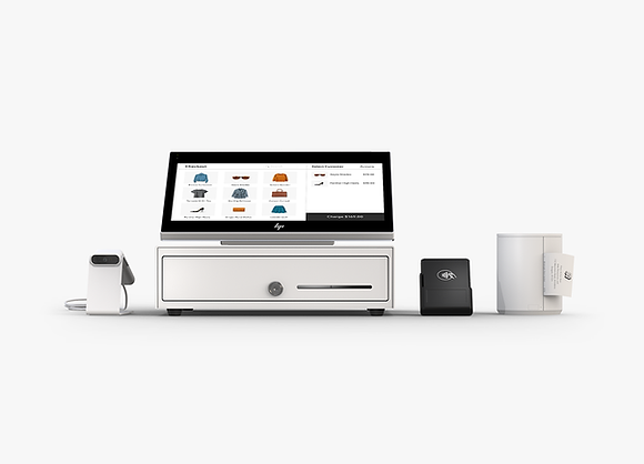 Merchant view of The Complete Retail POS Package from Wix.