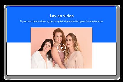 Miniaturebillede af en video, der viser tre piger med langt hår.