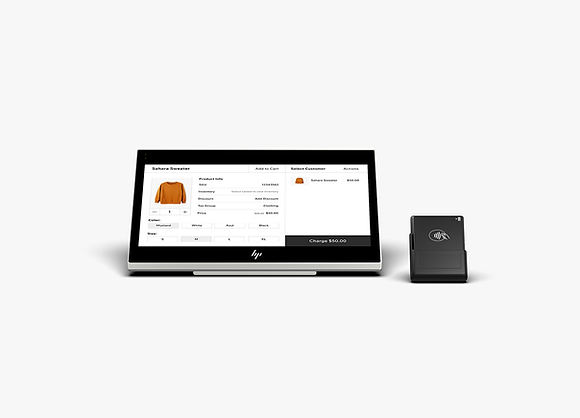 Merchant-facing view of Your Retail Essentials kit from Wix.